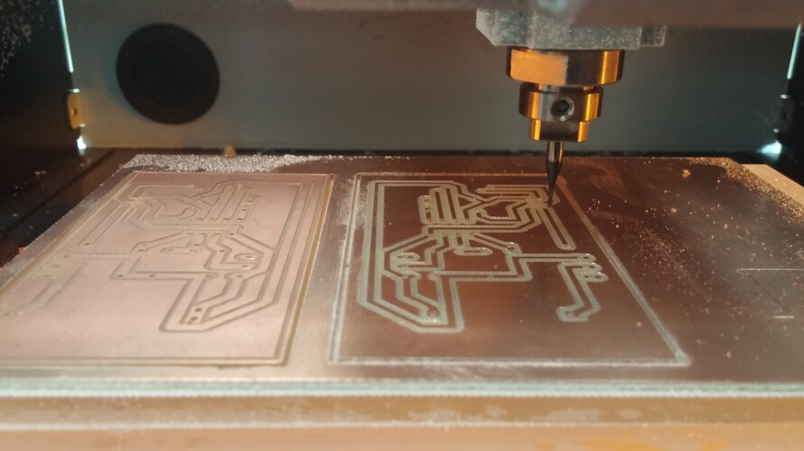 ....whitch our Roland CNC mills needs to create the pcb