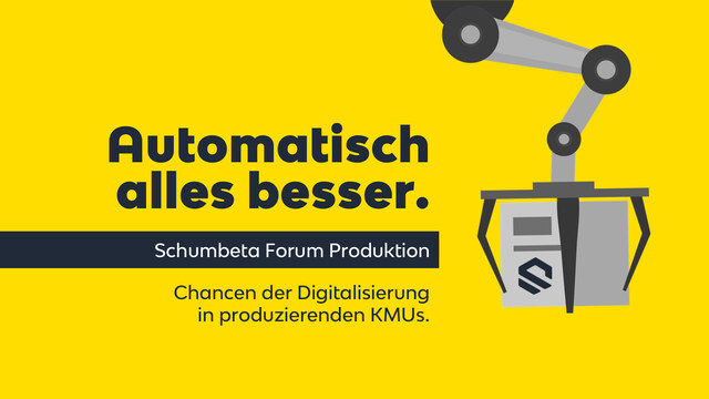 Schumbeta Forum Produktion